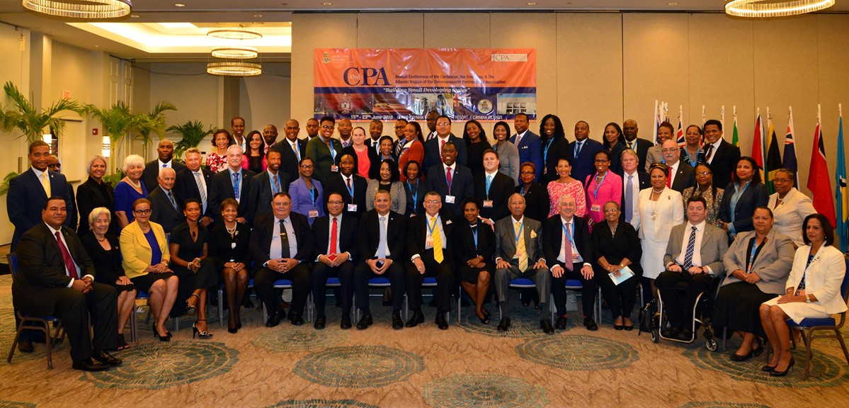 Delegates at the 43rd Annual CPA Caribbean, Americas and Atlantic Regional Conference