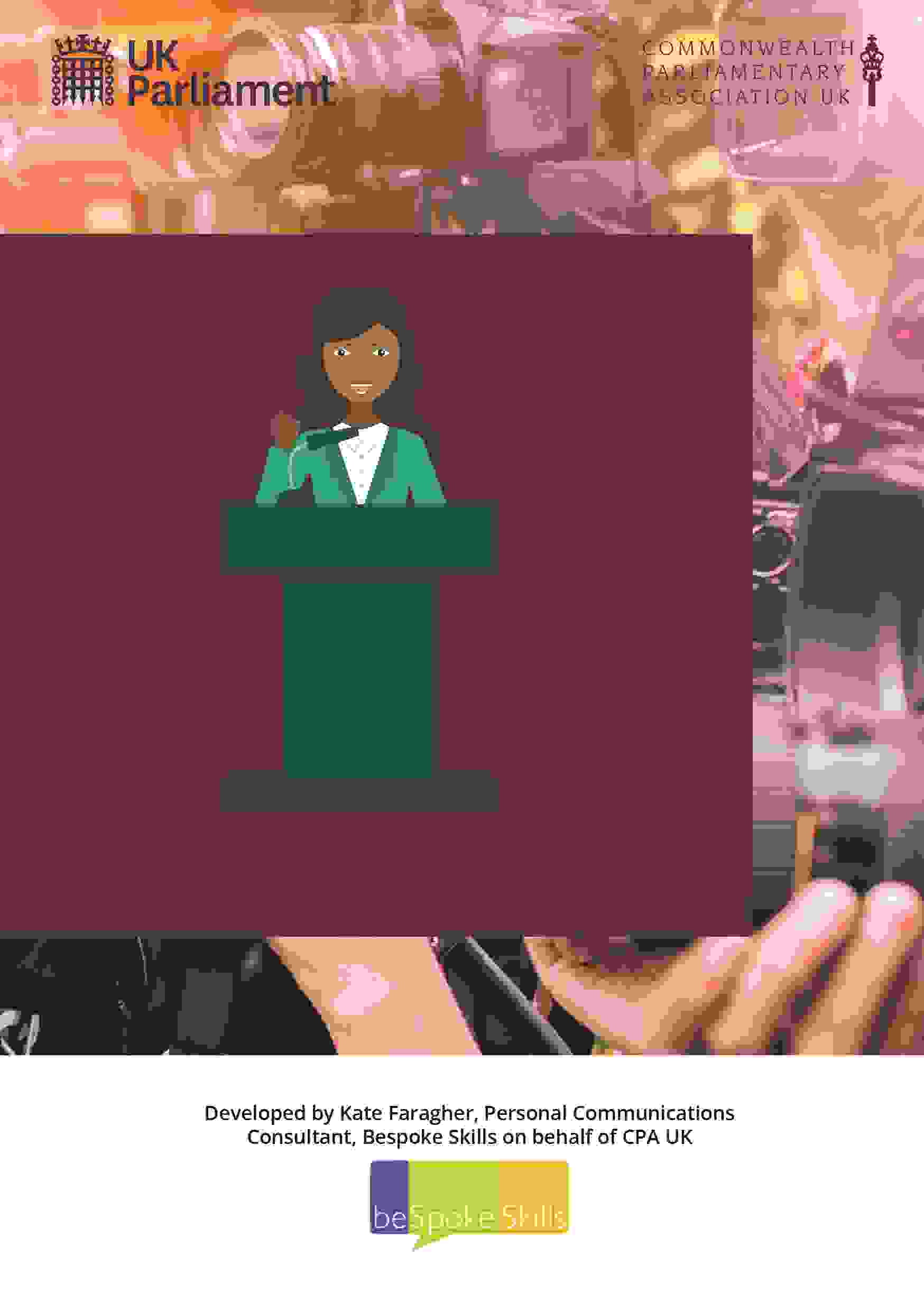 CPA UK Launches its new Communications Handbook for Women Parliamentarians listing image