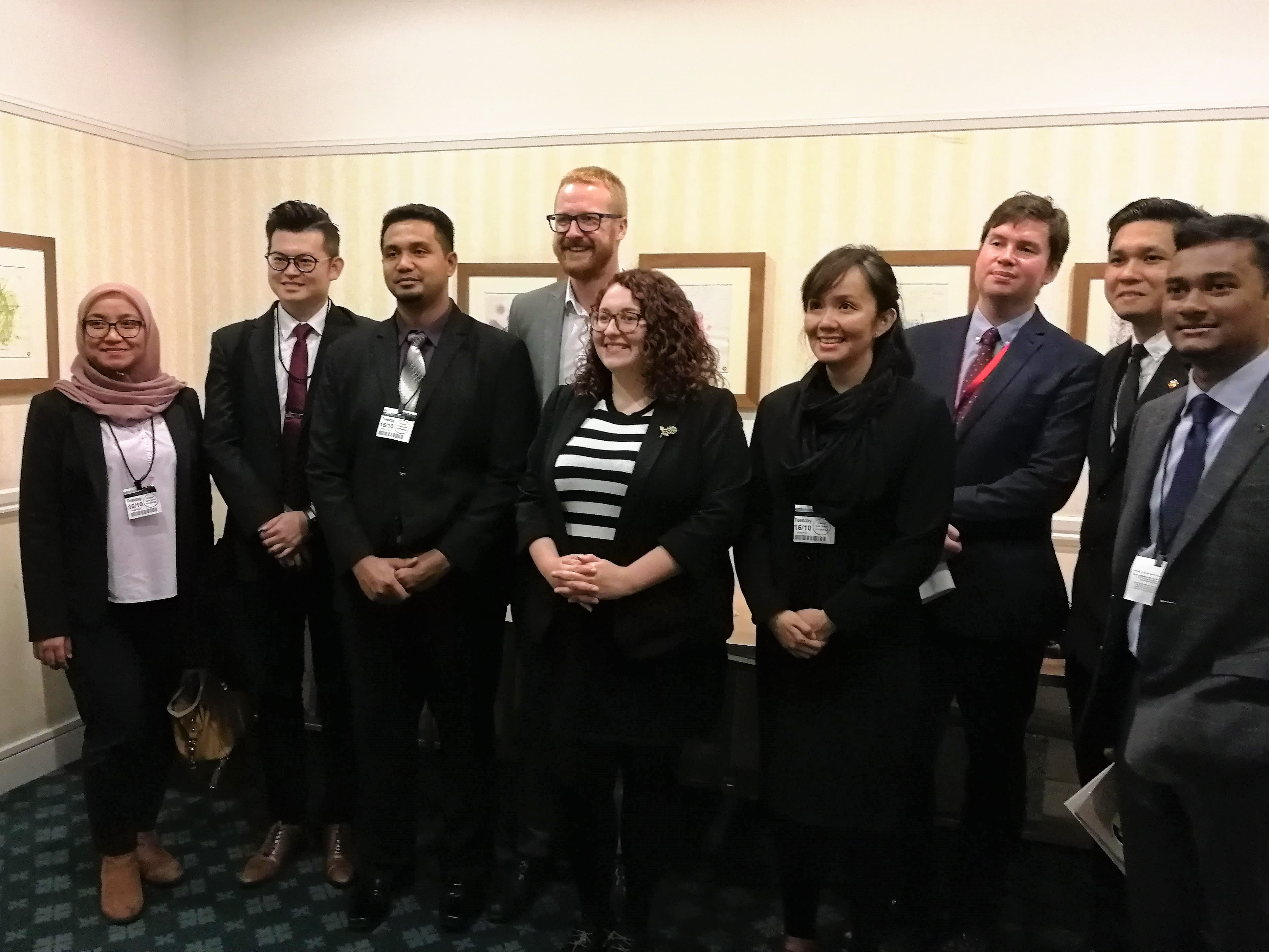Lloyd Russell-Moyle MP, Danielle Rowley MP, Dan Carden MP with the delegation following a roundtable discussion