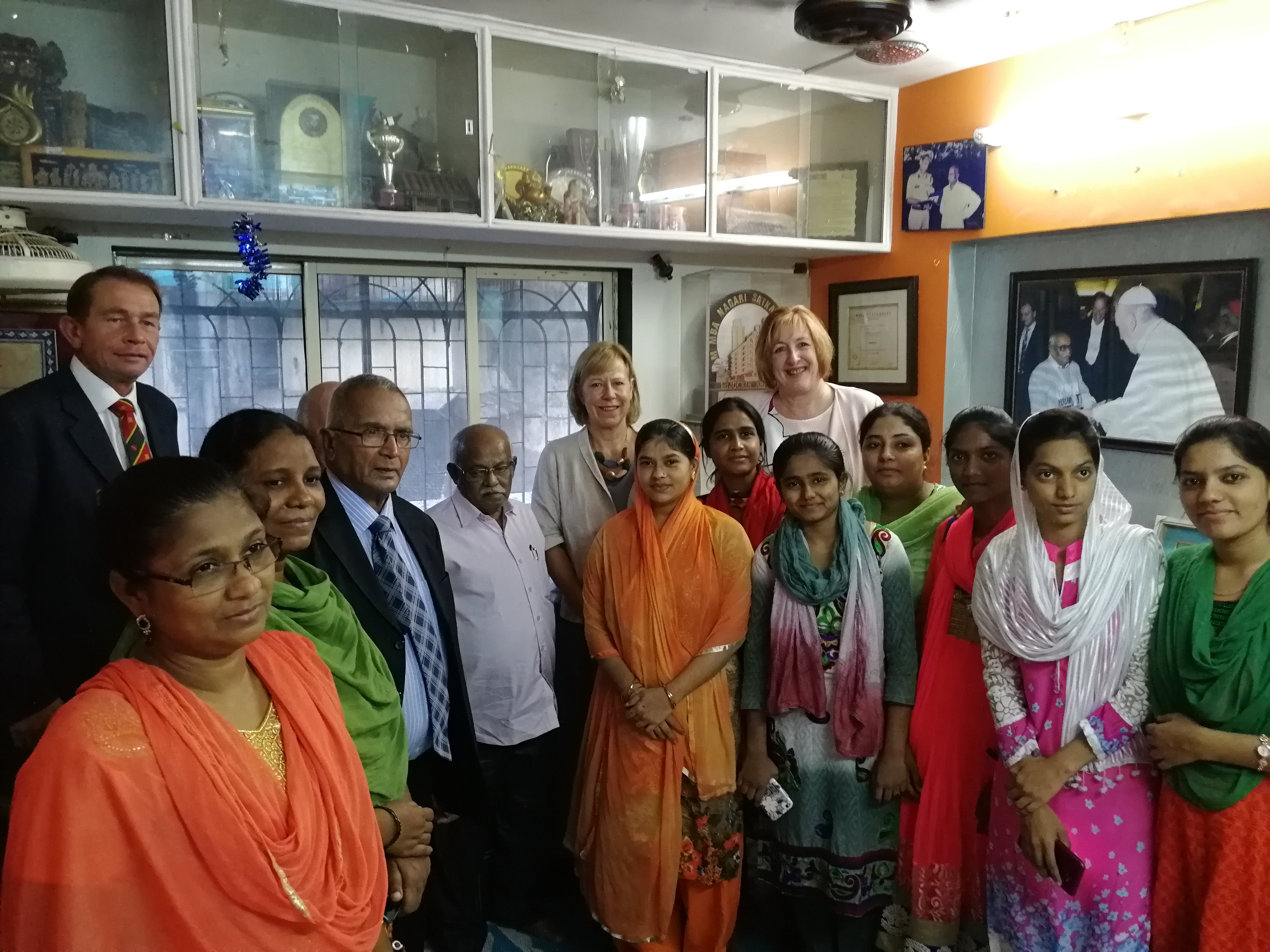 CPA UK meet with the National Slum Dwellers Association