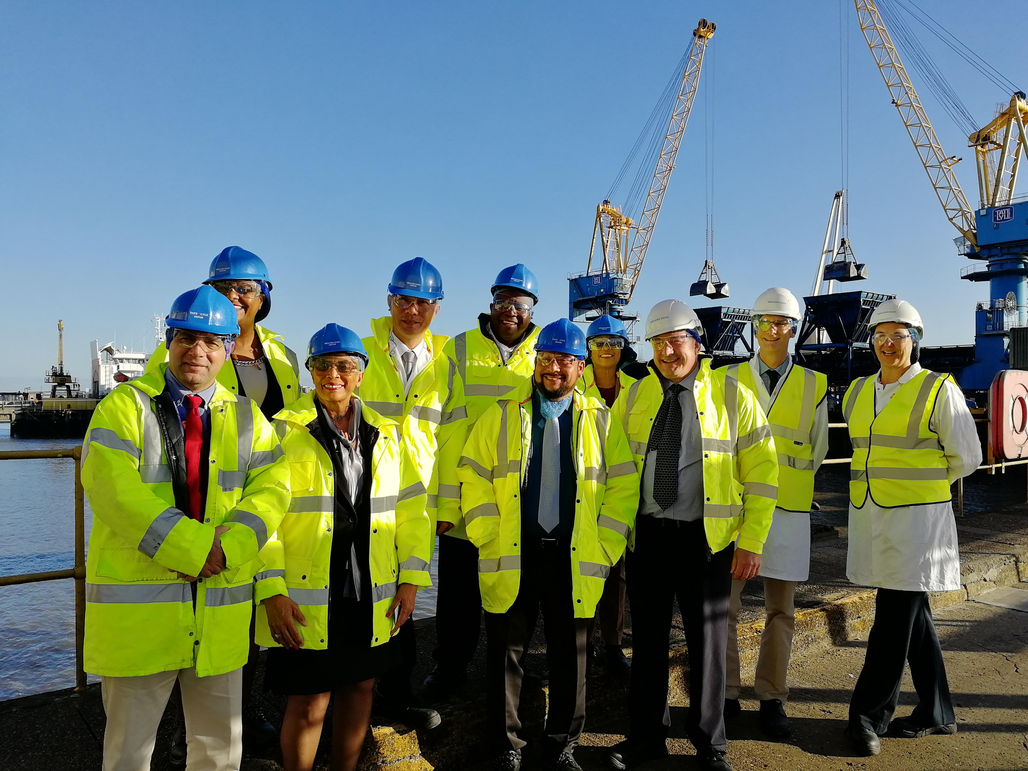 Field visit to the Tate & Lyle Sugars (TLS) Thames Refinery