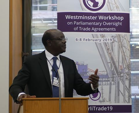 CPA UK shines spotlight on parliamentary oversight of trade agreements listing image