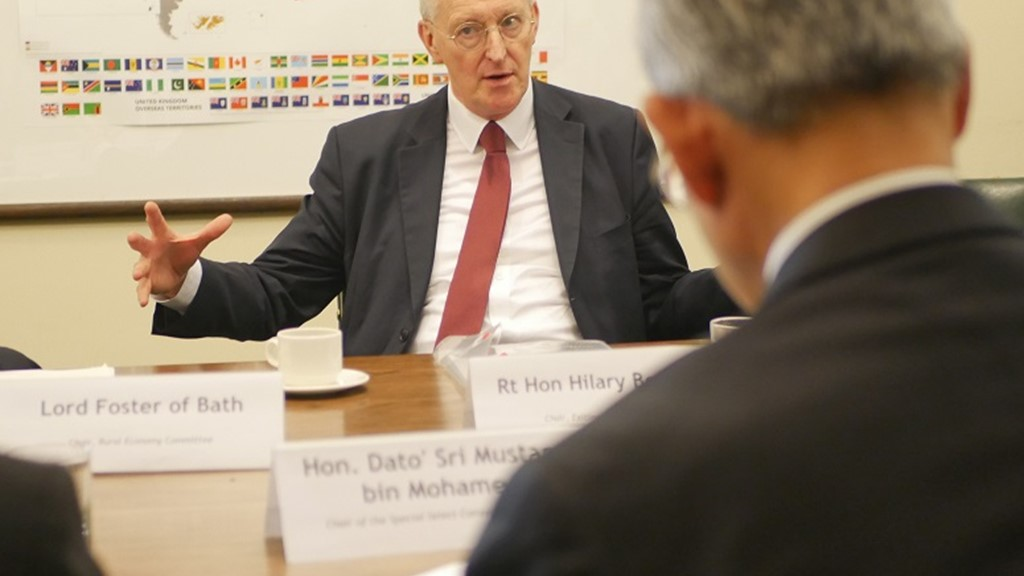 Rt Hon. Hilary Benn MP discusses committee cohesion