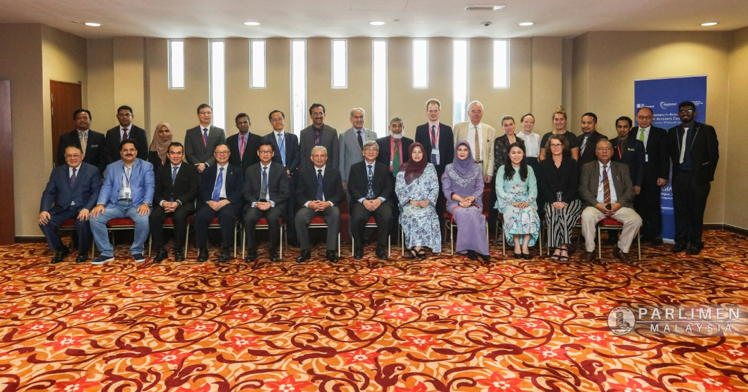 Group photo of all the delegates attending the Workshop. Location: Malaysian Parliament