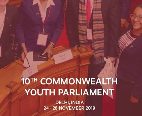 Apply to attend the Commonwealth Youth Parliament listing image