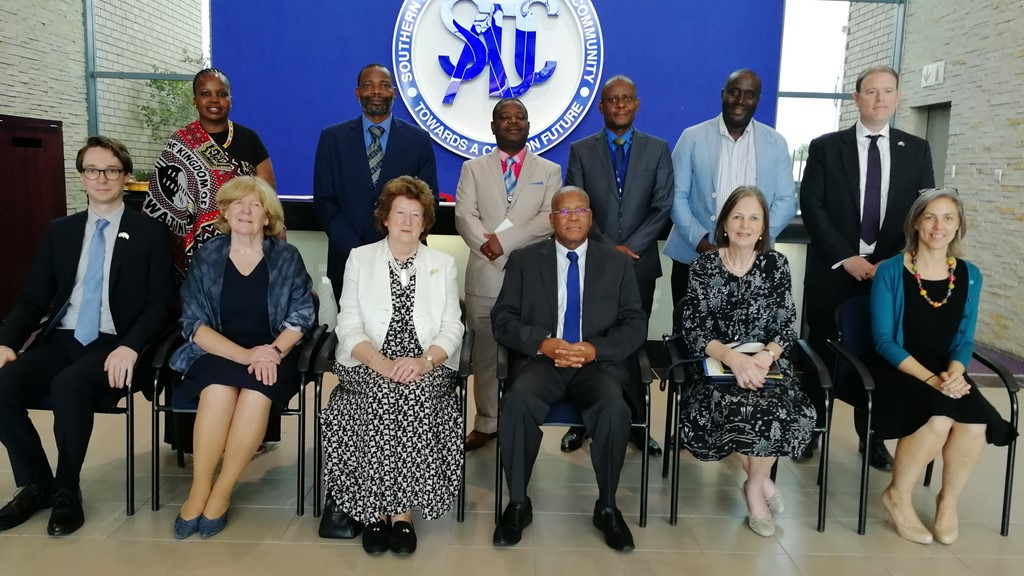 The delegation met with SADC to discuss the regional approach to integration and development