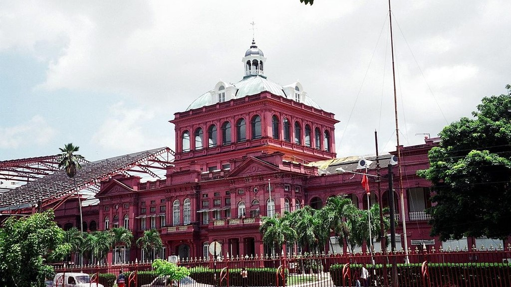 The Red House, Parliament of The Republic of Trinidad and Tobago