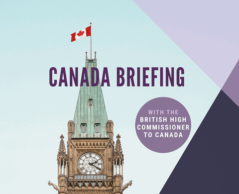 Canada Briefing by British High Commissioner listing image